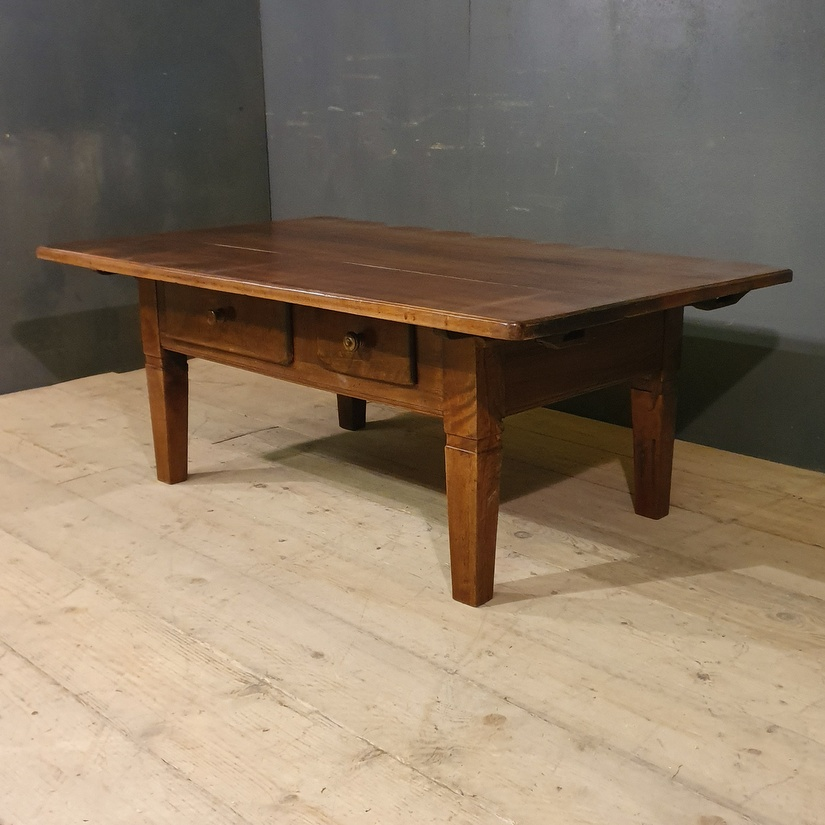 French Walnut Low Table