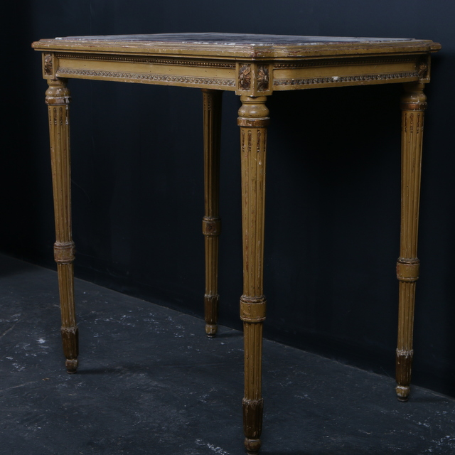 Marble Topped Side Table