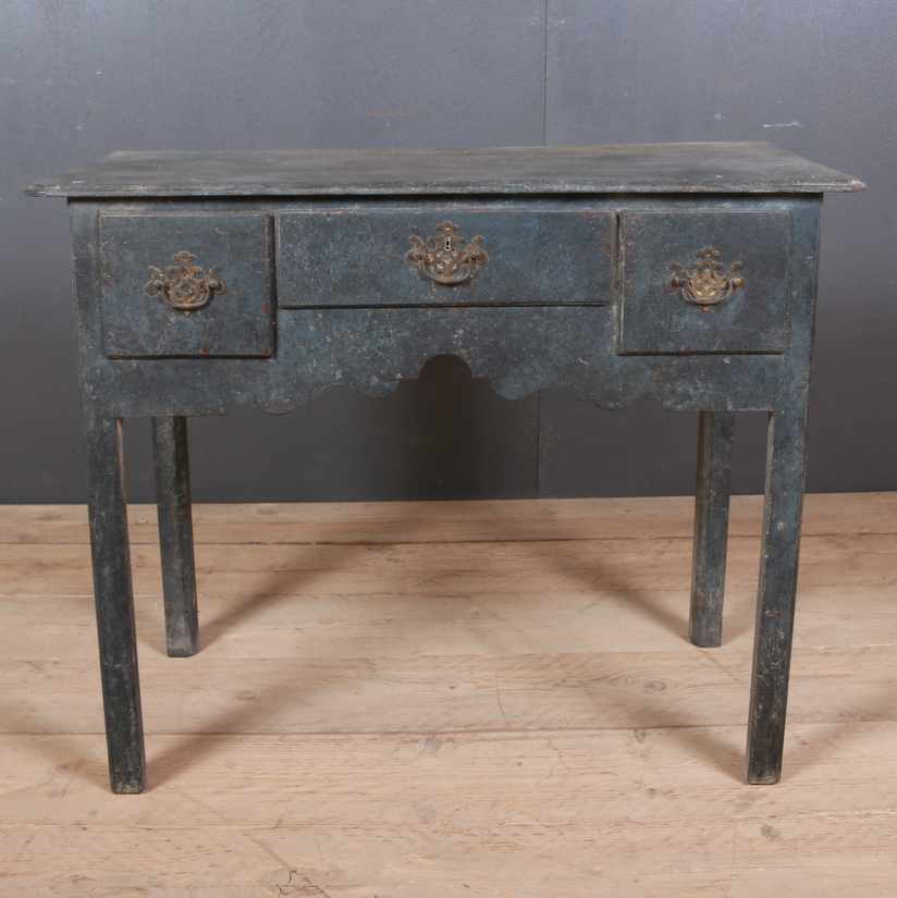 English Painted Low Boy/ Lamp Table