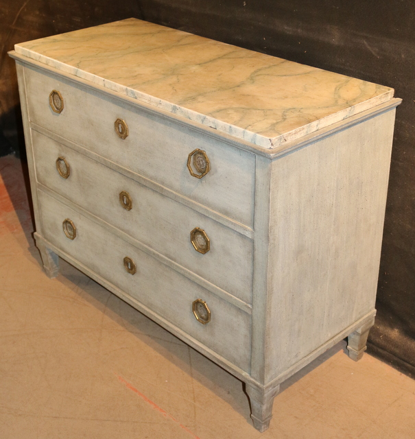 Painted Swedish Commode