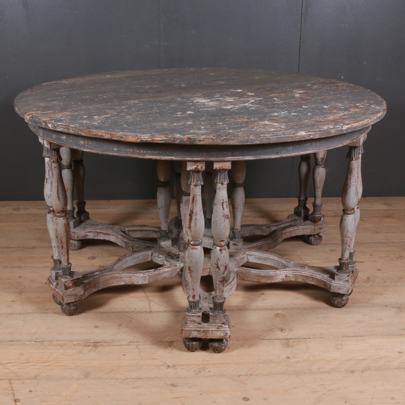 Italian Centre Table / Demi Lune Tables