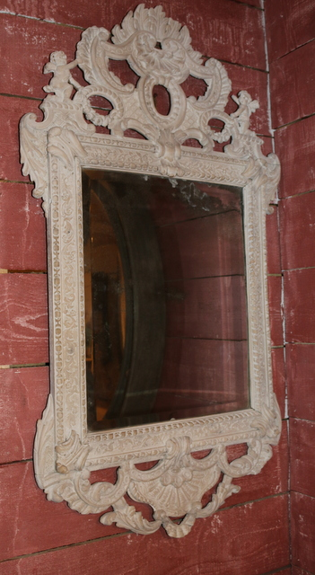 Bleached Oak Mirror