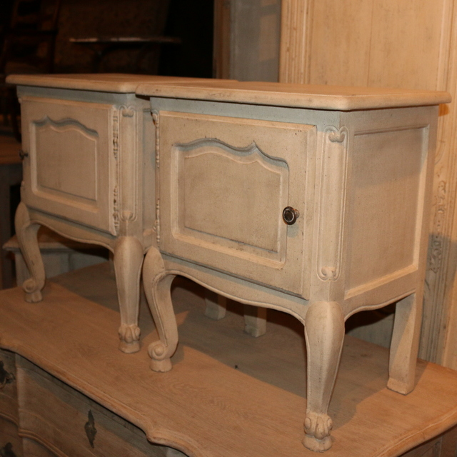 French Bedside Cupboards