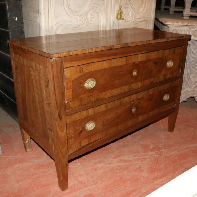 Pale Walnut Commode