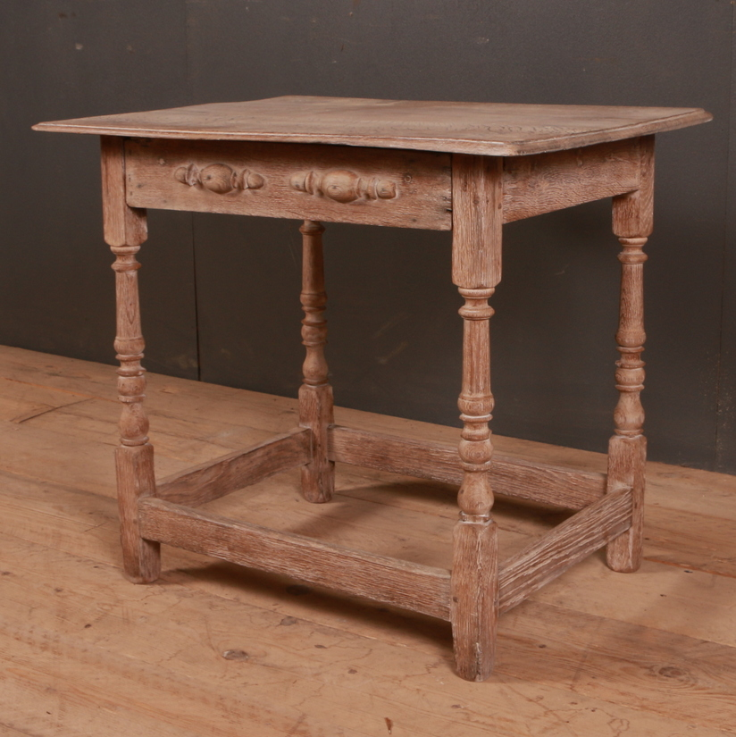 English Oak Lamp Table