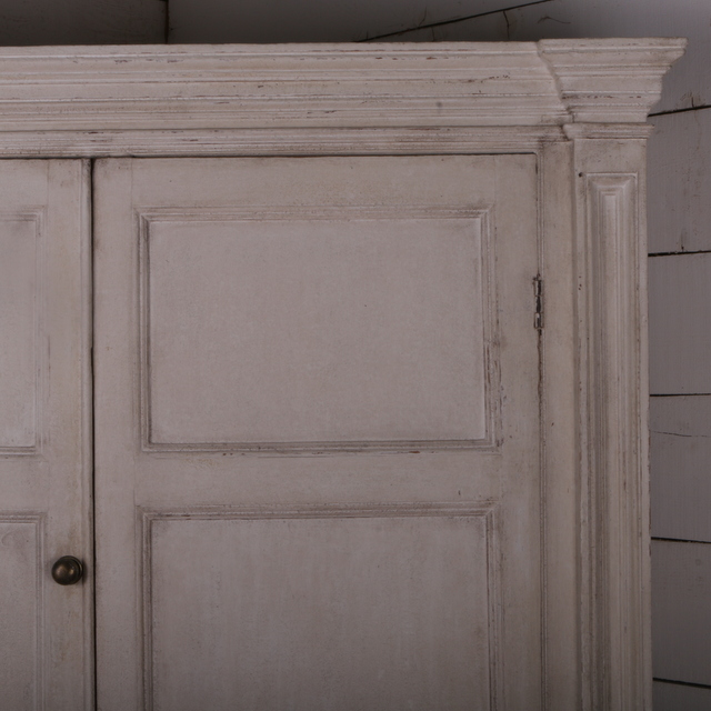 Painted Housekeepers Cupboard