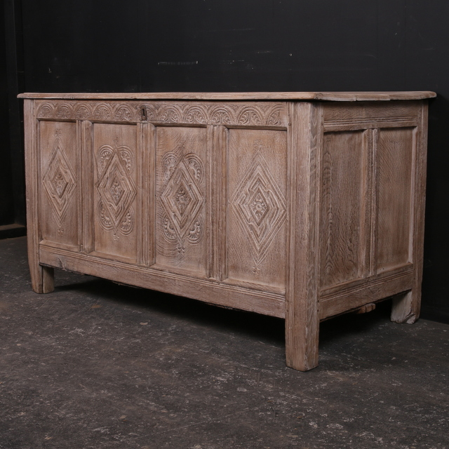 Large Bleached Coffer