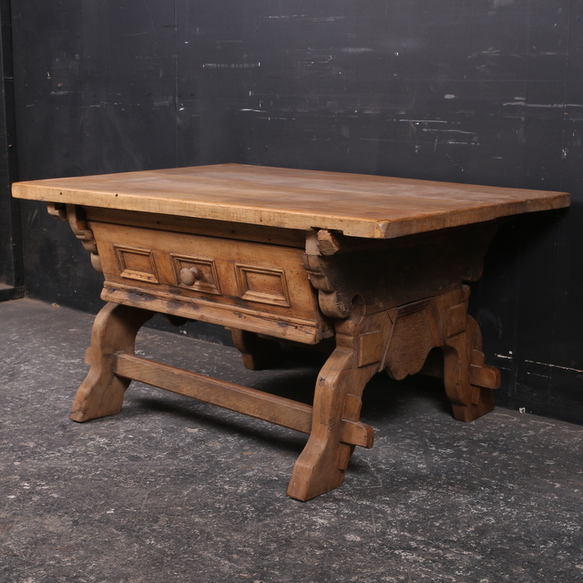 Fruitwood Low Table