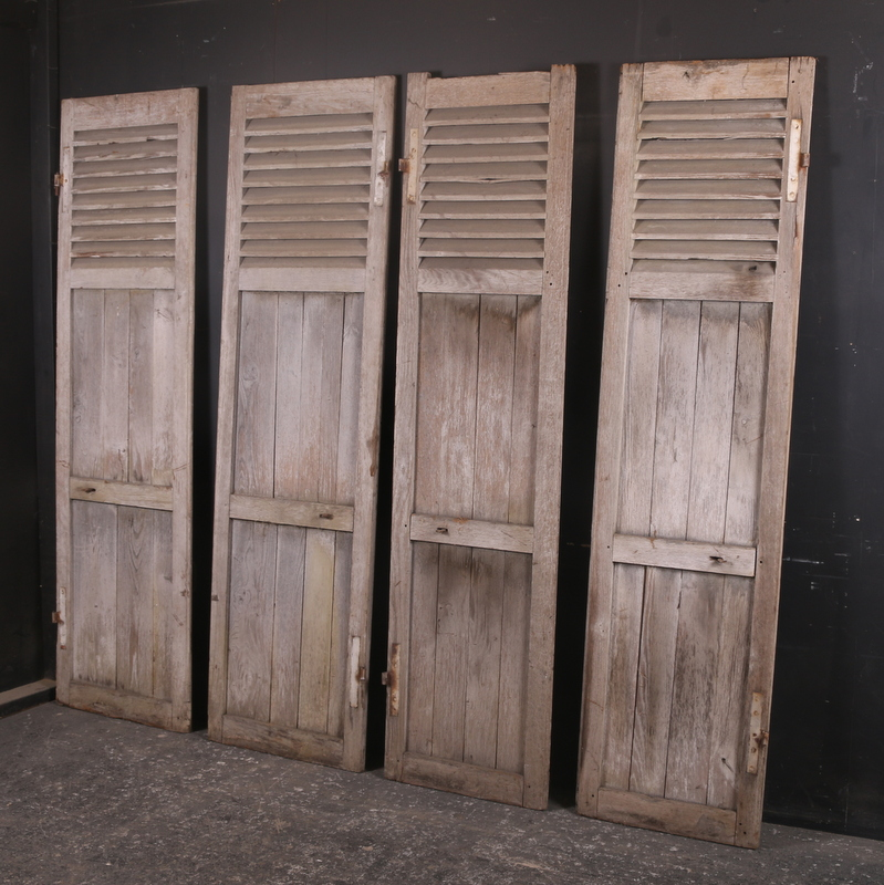 Weathered Oak Shutters