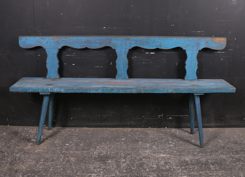 Narrow Rustic Bench