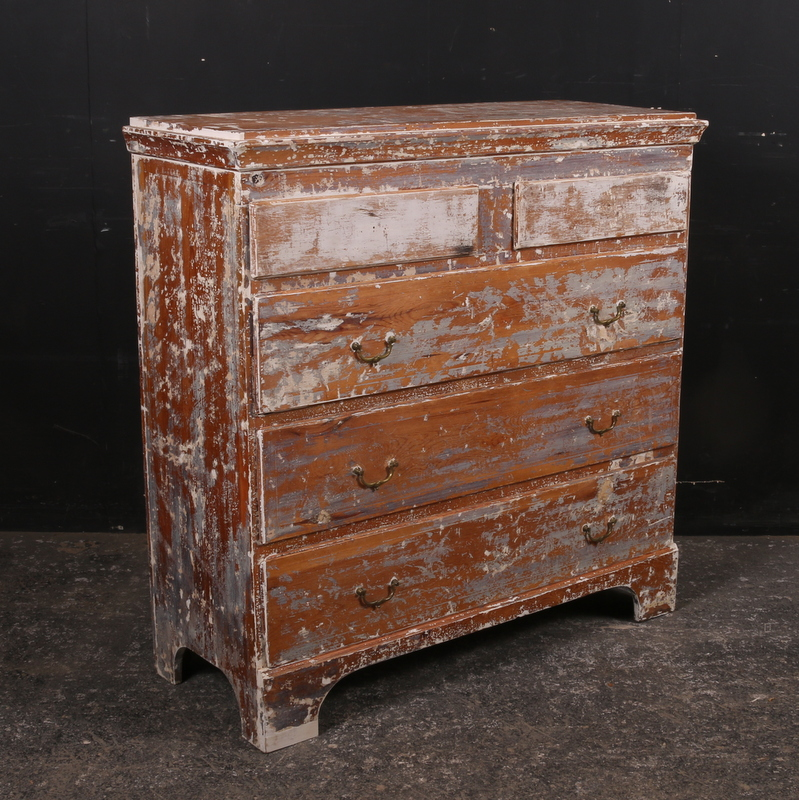 Original Painted Commode