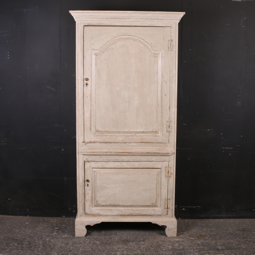 Painted Linen Cupboard