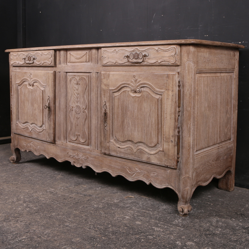bleached oak enfilade antique buffets enfilades. Black Bedroom Furniture Sets. Home Design Ideas
