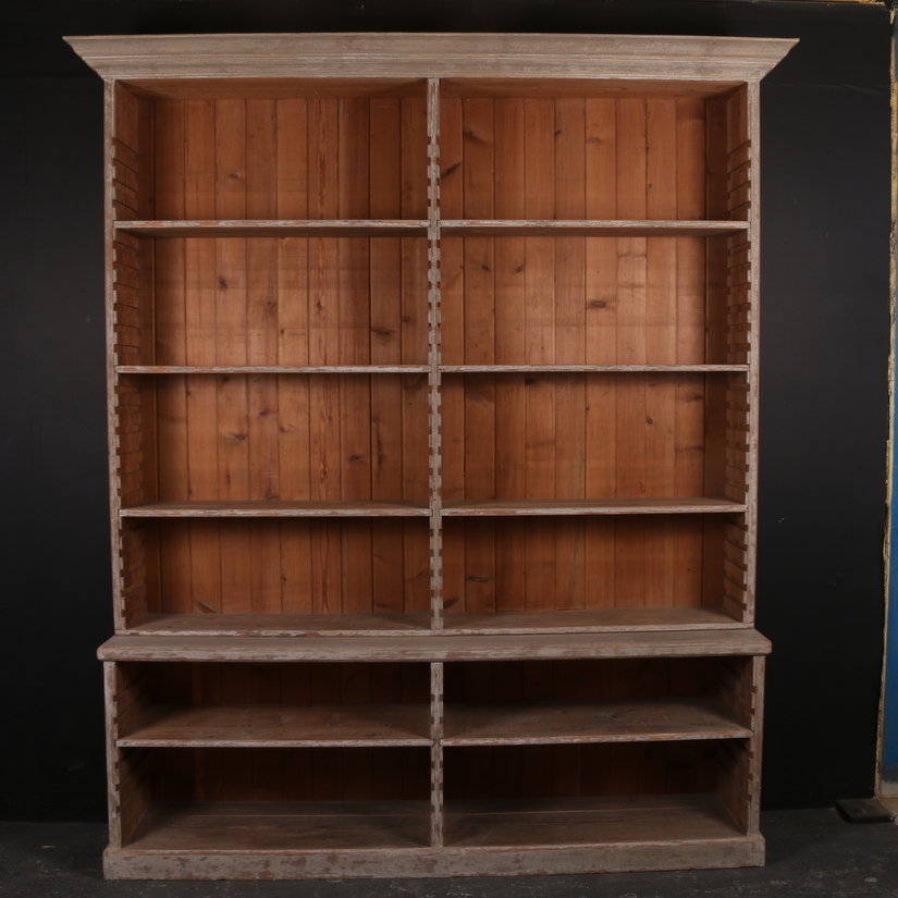Pine Open Bookcase