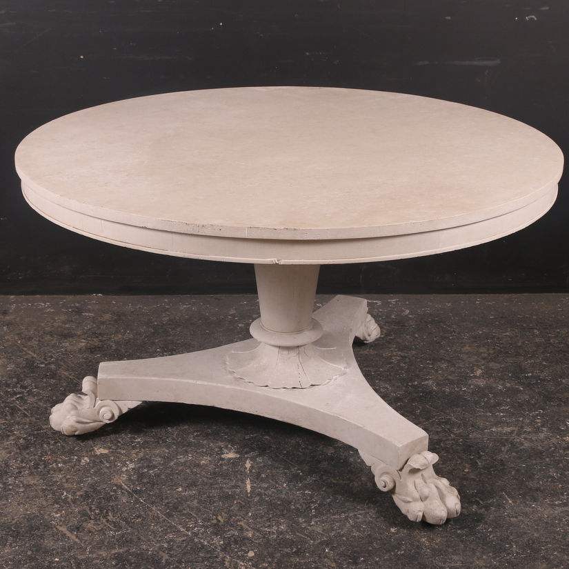 19th C Breakfast Table