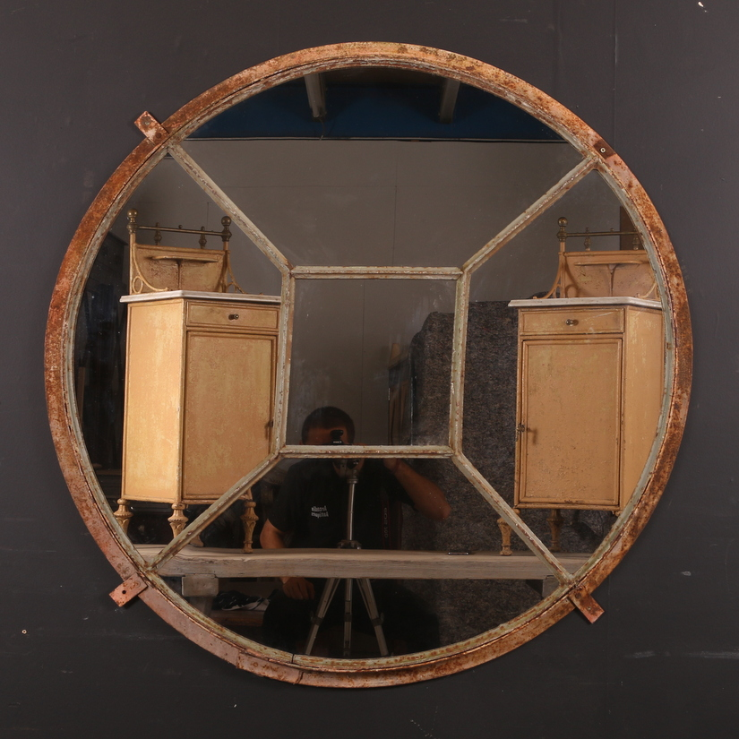 French Circular Mirror