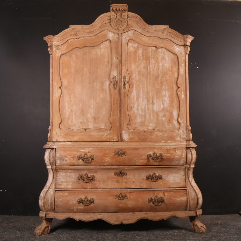 Stunning Dutch Linen Cupboard