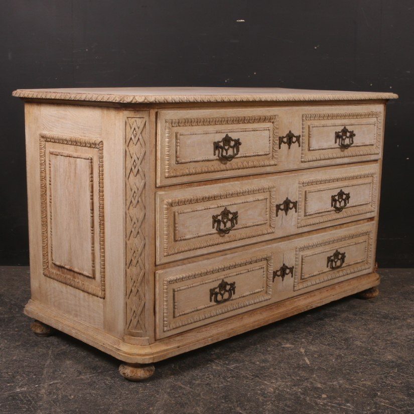 Wonderful French Oak Commode