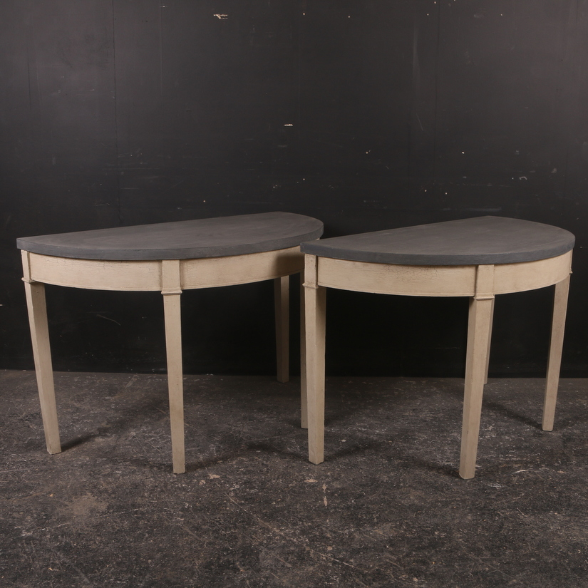 Demi Lune Console Tables