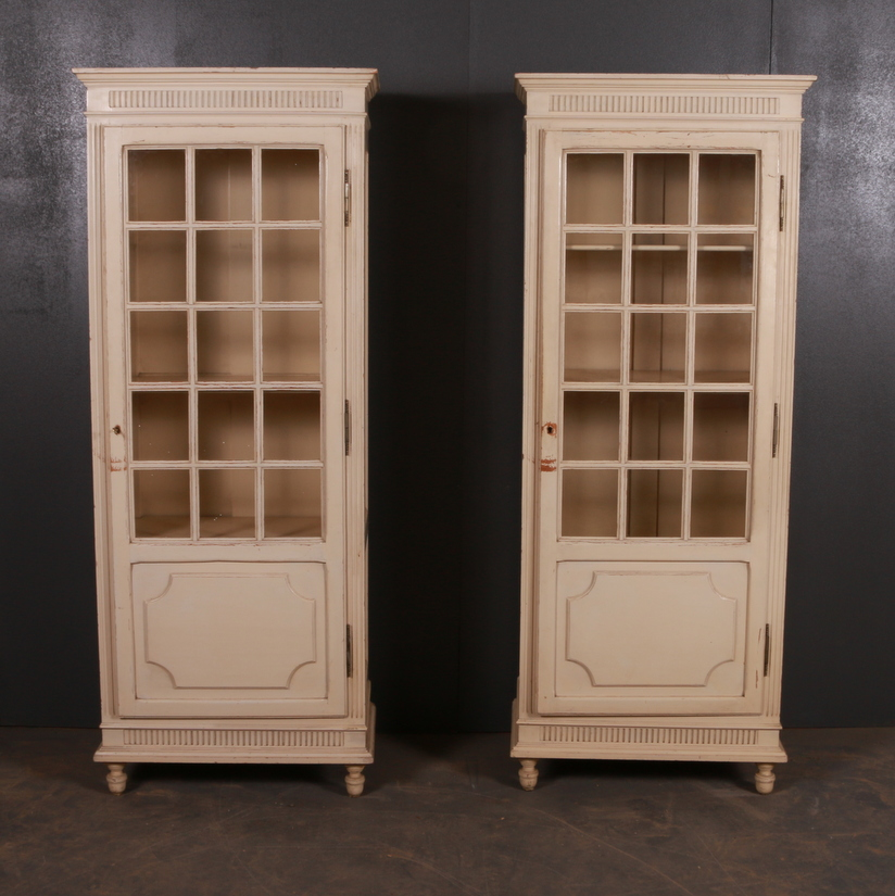 French Painted Bathroom Cabinets