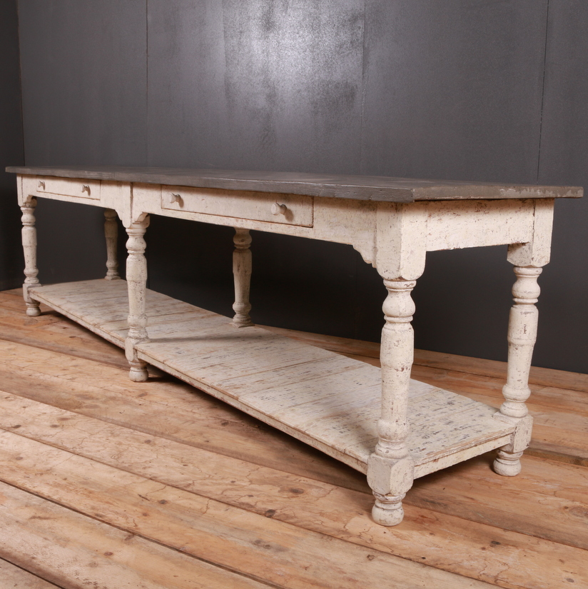 Large French Drapers Table