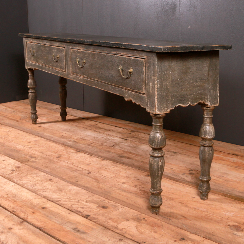Painted Serving Table