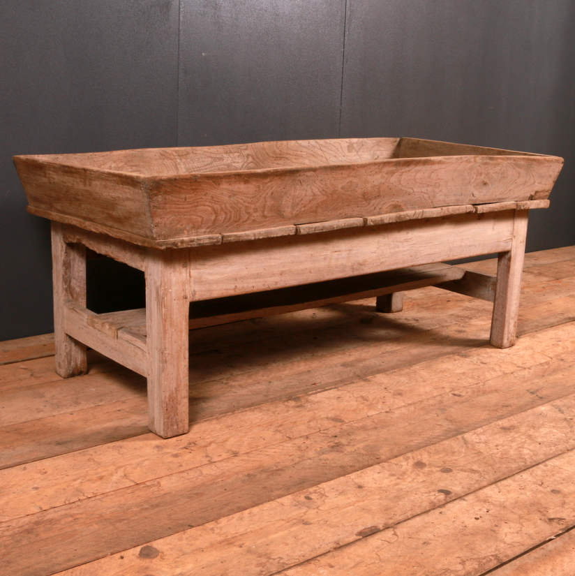 Bleached Elm Low Table