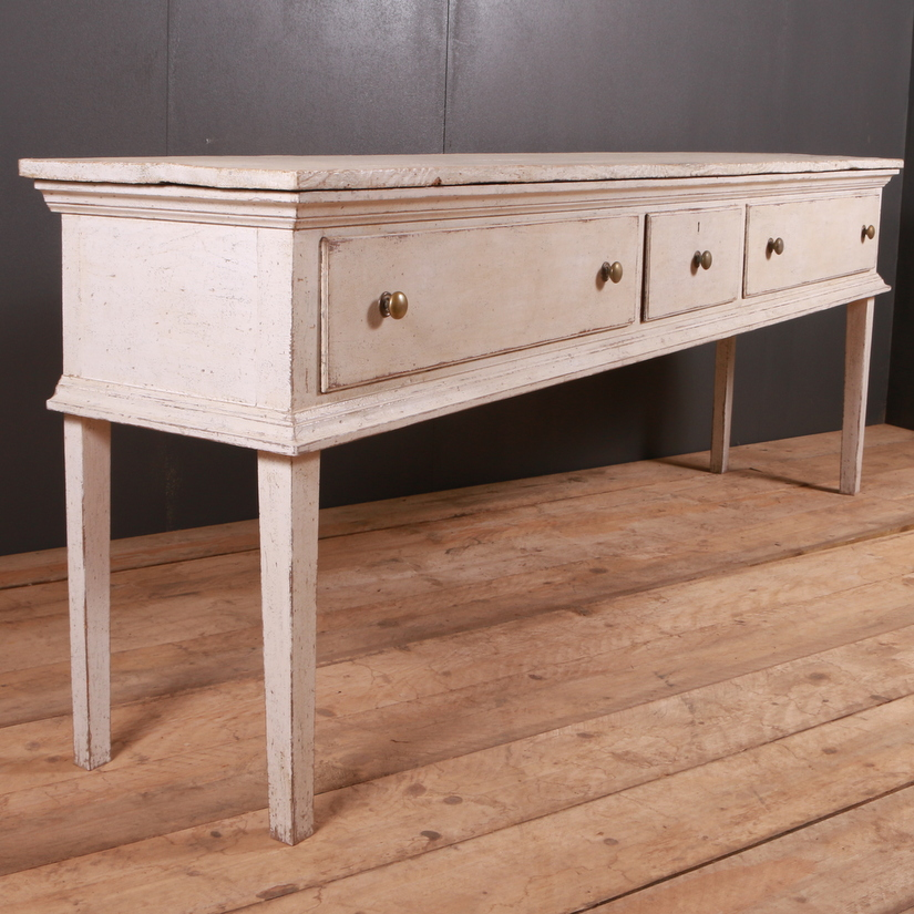 Painted English Dresser Base
