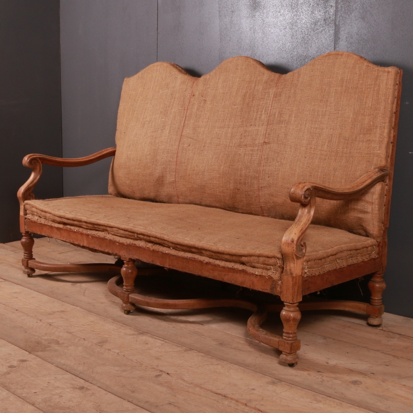 French Oak Sofa