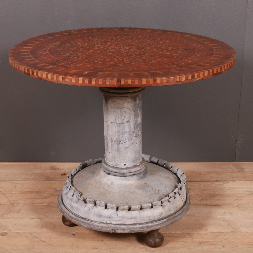 Unusual French Lamp Table