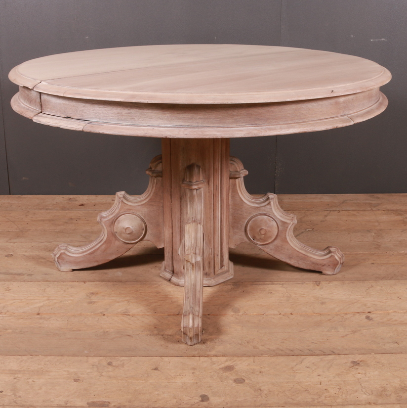 French Oak Circular Table Antique Dining Tables Antique Tables