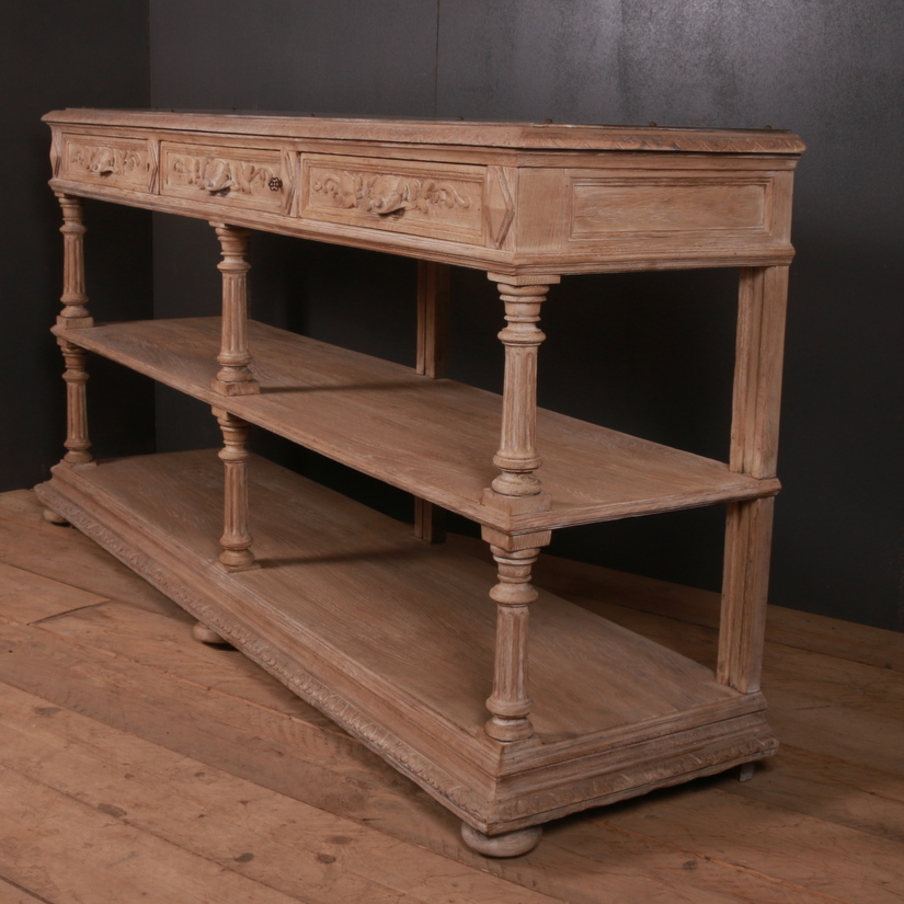 French Bleached Oak Buffet