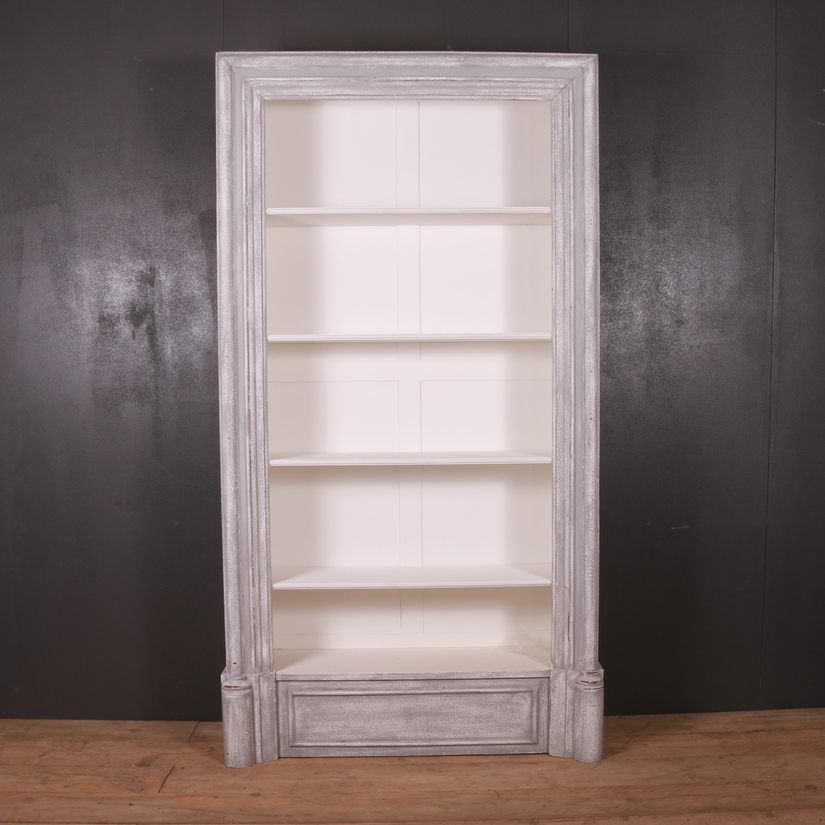 English Open Bookcase