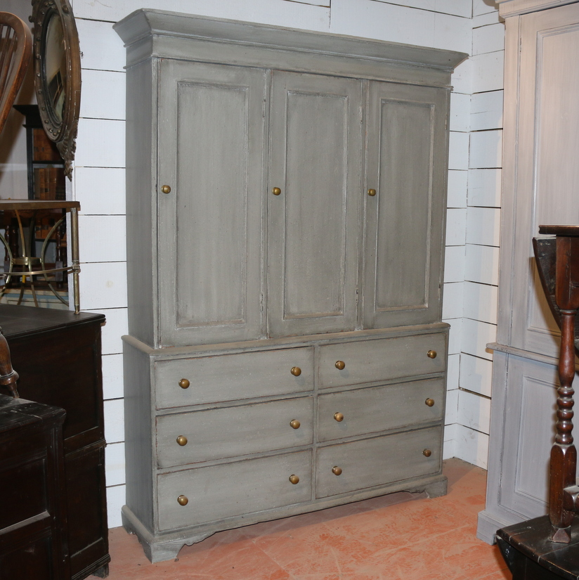 Painted Housemaids Cupboard