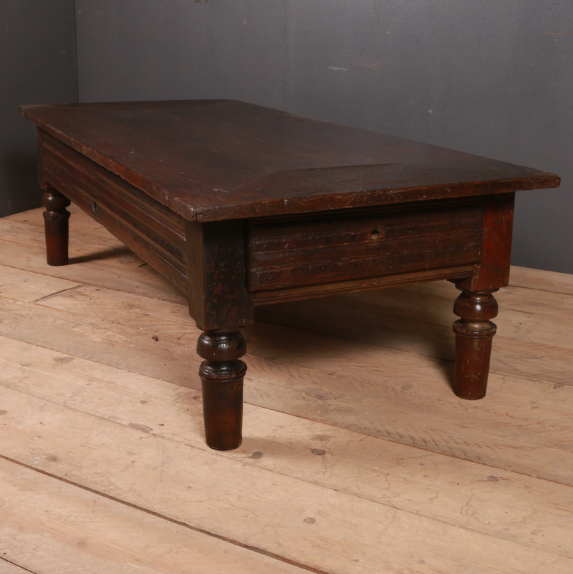 Rustic French Coffee Table