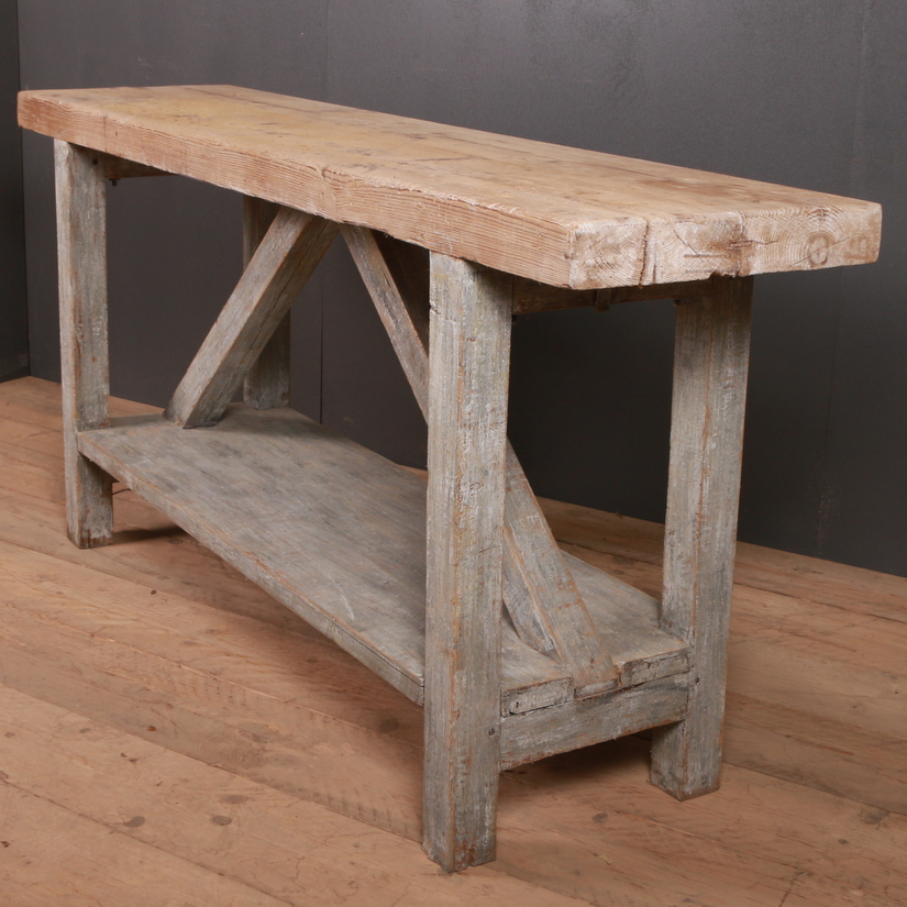 Primitive Serving Table