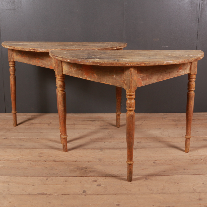Swedish Console Tables