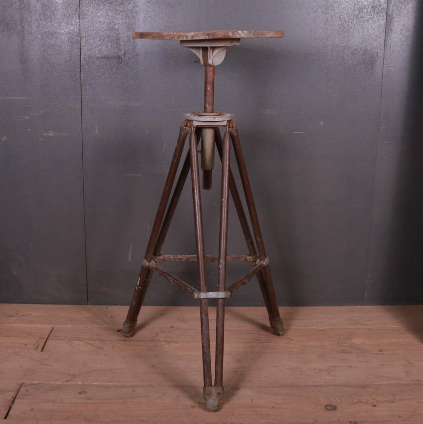 Industrial Sculpture Stand