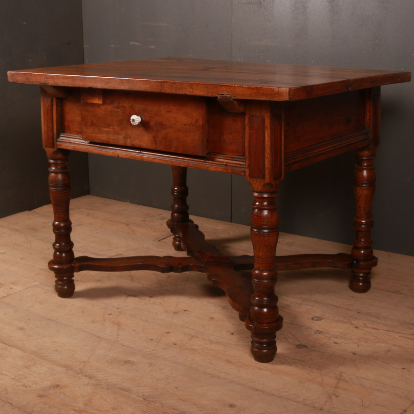 Italian Inlaid Walnut Centre Table
