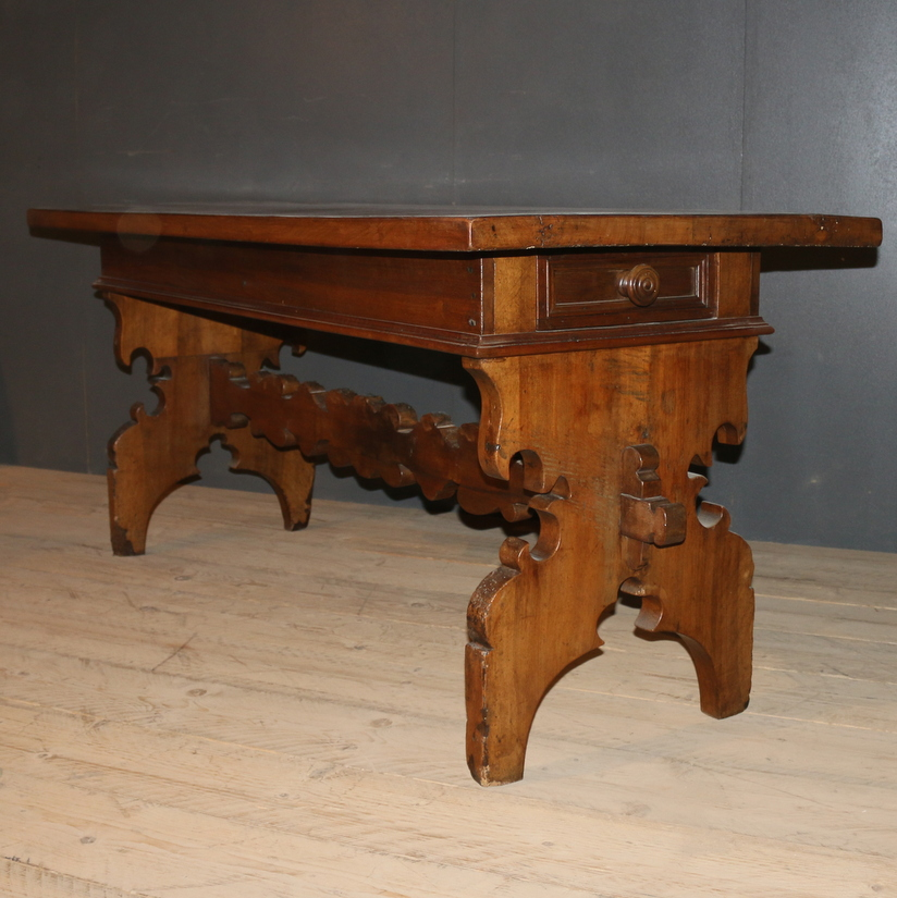 Italian Trestle Table