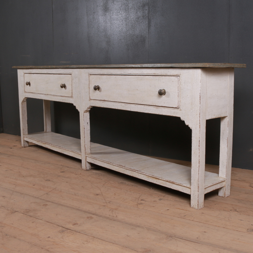 Narrow English Serving Table