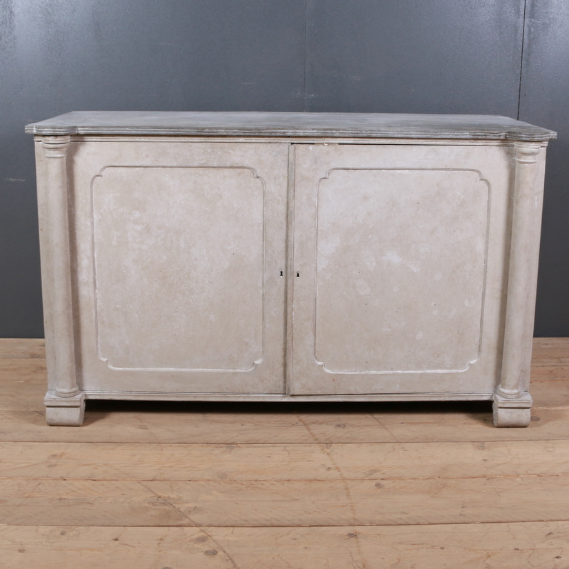 Painted English Cabinet