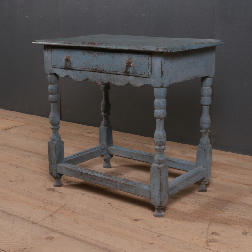 Painted English Lamp Table