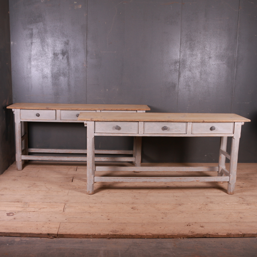 Pair of English Serving Tables