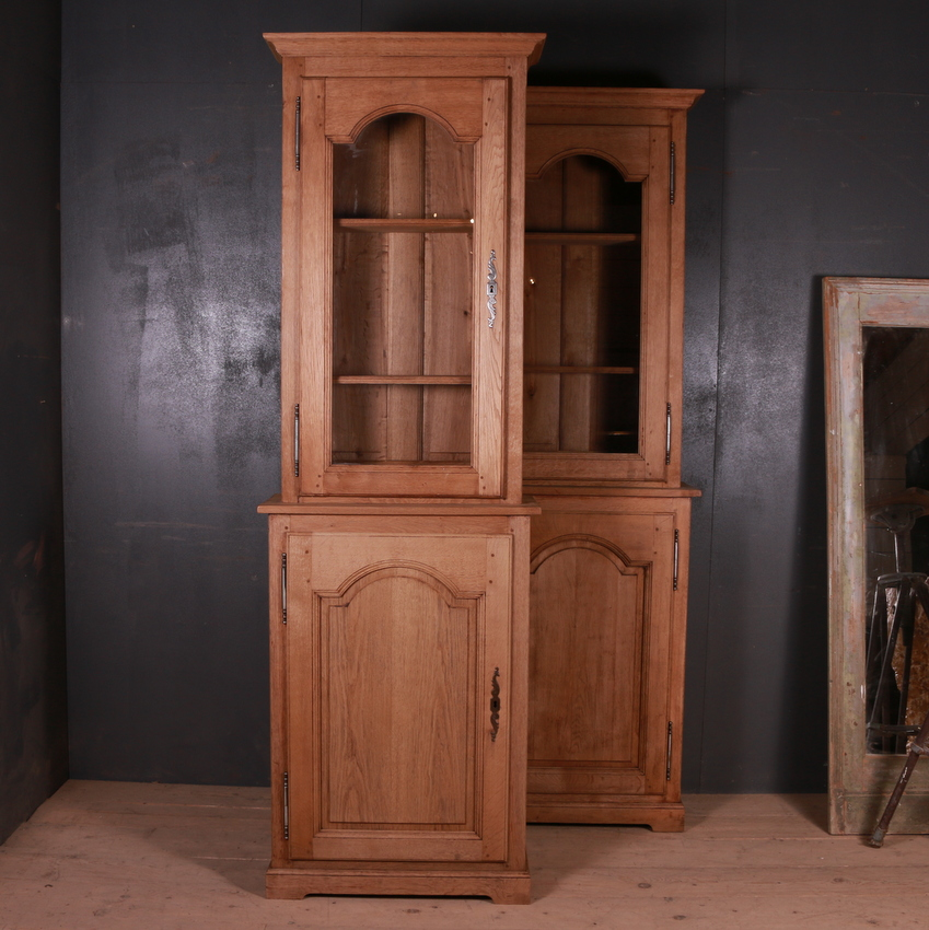 Pair of French Oak Bookcases