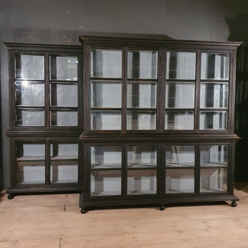 Pair of Glazed Display Cabinets