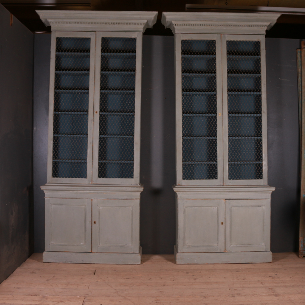 Pair of Irish Bookcases