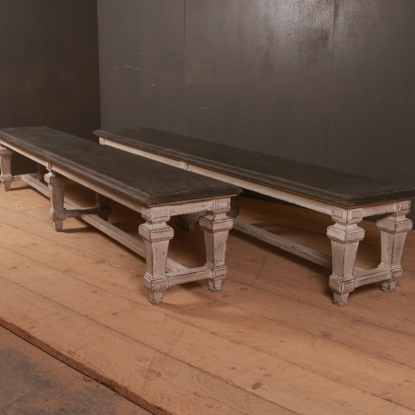 Pair of Italian Benches