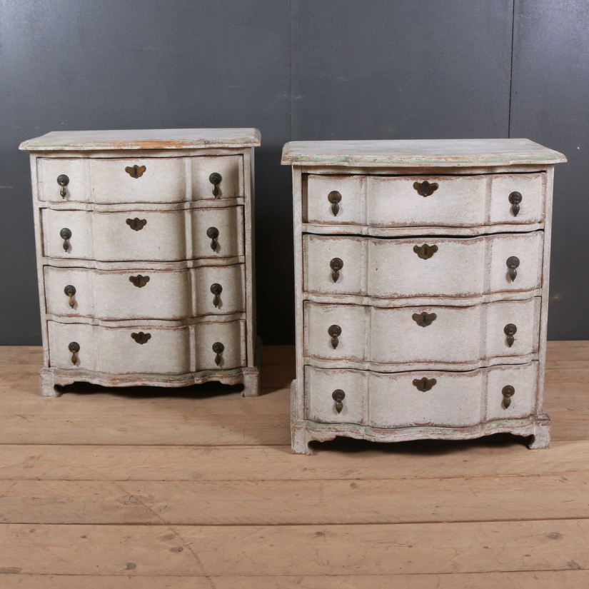 Pair of Swedish Commodes