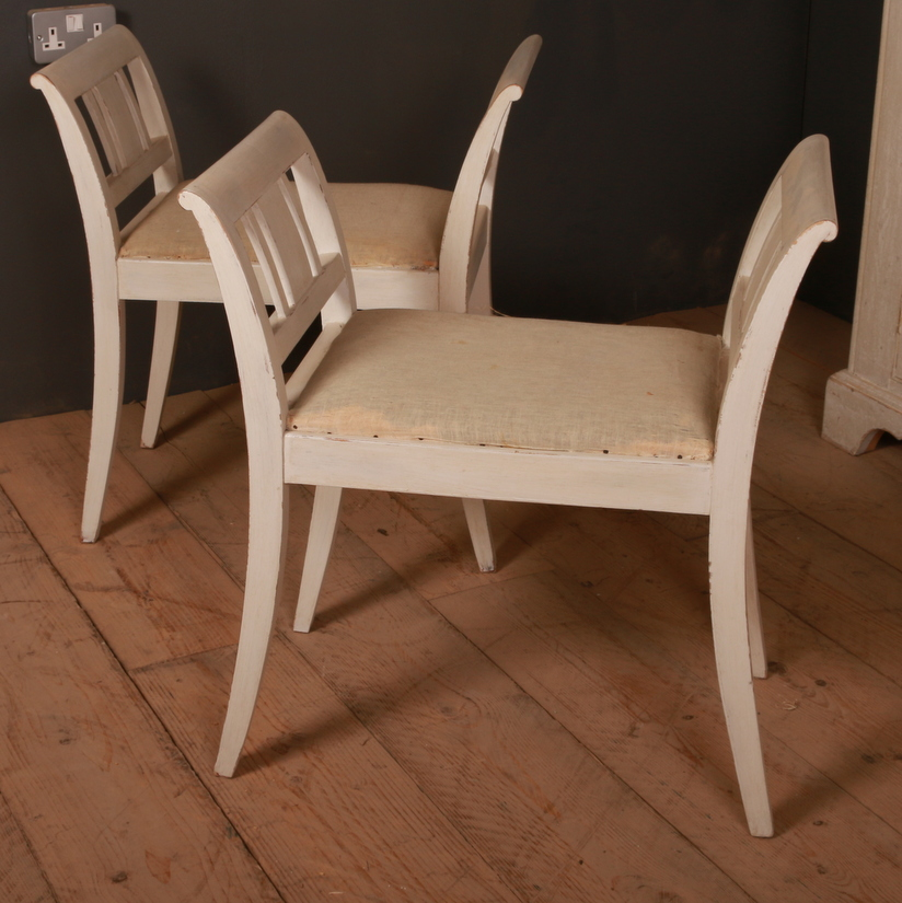 Pair of Swedish Stools